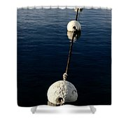 Buoy Descending Shower Curtain