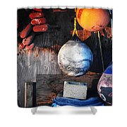 Buoy Garden Shower Curtain