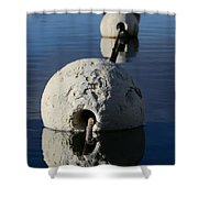 Buoy In Detail Shower Curtain