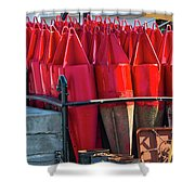 Buoys For The Mississippi Shower Curtain