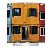 Burano Homes Shower Curtain