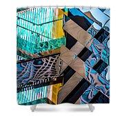 Burberry Flagship Store V3 Dsc7575 Shower Curtain