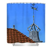Bureau Of Tourism Amsterdam Shower Curtain