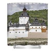 Burg Pfalzgrafenstein In Kaub Germany Shower Curtain