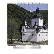 Burg Pfalzgrafenstein Shower Curtain