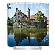 Burg Vischering Shower Curtain