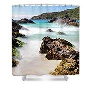 Burgess Beach Shower Curtain