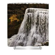 Burgess Fall Tennessee Shower Curtain
