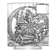Burgkmair - Maximilian Shower Curtain