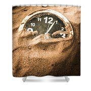 Buried In The Sands Of Time Shower Curtain