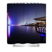 Burj Al Arab In Dubai, United Arab Emirates Shower Curtain