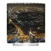 Burj Khalifa Dubai Shower Curtain