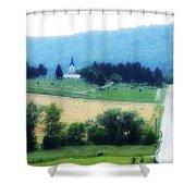 Burkittsville Maryland Shower Curtain