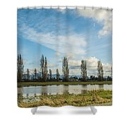 Burlington Fields  Shower Curtain