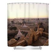 Burma Landscape Shower Curtain
