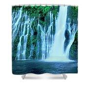 Burney Falls Mcarthur Burney State Park California Shower Curtain