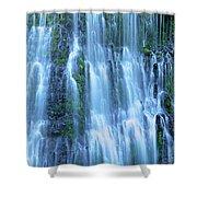 Burney Falls Mist Mcarthur Burney Sp California  Shower Curtain