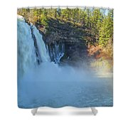 Burney Falls Wide View Shower Curtain