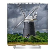 Burnham Overy Mill Shower Curtain