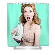 Burning Hot Fashion Shower Curtain