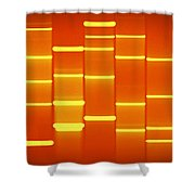 Burnt Sienna Shower Curtain