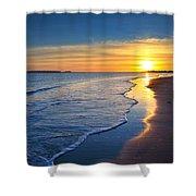 Burry Port Beach Shower Curtain