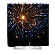 Bursting In Air Shower Curtain