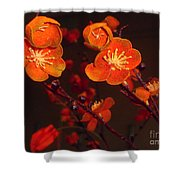 Bursting Into Bloom Shower Curtain