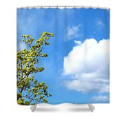 Bursting With New Life Shower Curtain