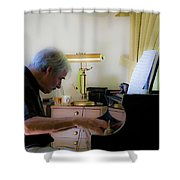 Burton Greene 1 Shower Curtain