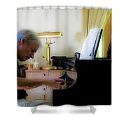 Burton Greene 2 Shower Curtain