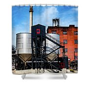 Burton Tanks Shower Curtain
