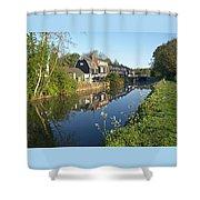 Burtons Mill Shower Curtain