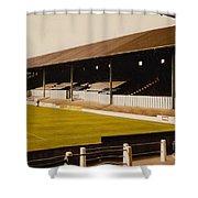 Bury - Gigg Lane - North Stand 1 - 1969 Shower Curtain