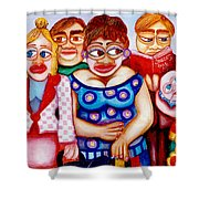 Bus Stop 1996 Shower Curtain