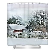 Bush Barn Shower Curtain