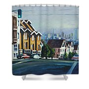 Bush Street Shower Curtain
