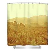 Bushland Of Western Dynamics Shower Curtain