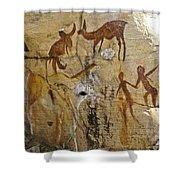 Bushman Painting Shower Curtain