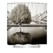 Bushy Hair Shower Curtain