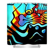 Business As Usual 1.0  Shower Curtain
