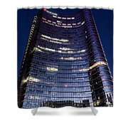 Business In Milan Shower Curtain