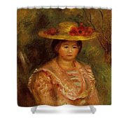 Bust Of A Woman Gabrielle Shower Curtain