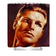 Buster Crabbe, Vintage Hollywood Legend Shower Curtain
