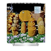 Busy Bee Keepers Shower Curtain