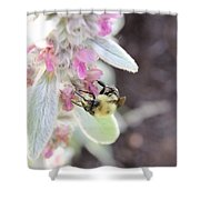 Busy Bumble Shower Curtain