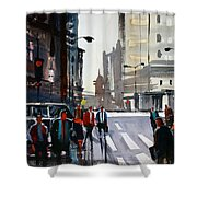 Busy City - Chicago Shower Curtain