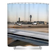 Busy Day At Sky Harbor Shower Curtain