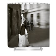 Busy Nun Shower Curtain