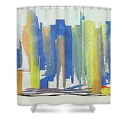 Busy Wednesday Shower Curtain